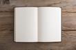 Leinwanddruck Bild - Libro vuoto