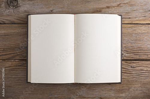 Leinwanddruck Bild Libro vuoto
