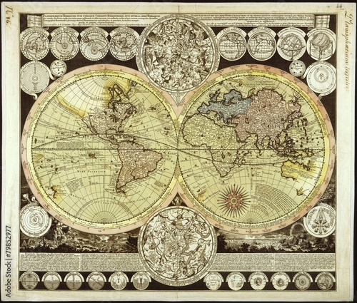 Vintage World map © Sergey Kamshylin