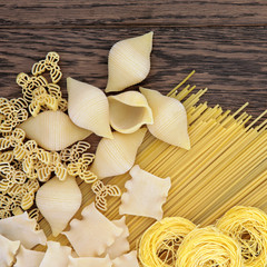 Dried Pasta Abstract