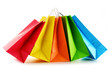 Paper shopping bags isolated on white background - 79854565