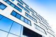 Leinwandbild Motiv modernes Gebäude in Deutschland - Büro