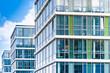 Leinwandbild Motiv Bürogebäude in Deutschland - Büros