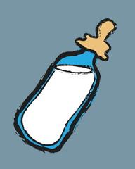 doodle baby milk bottles