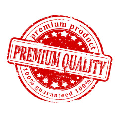 Damaged Red Seal - premium quality product, guaranteed - vector