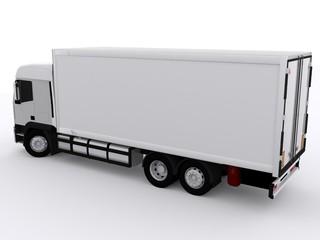 Weisser Lastwagen