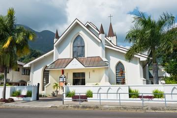 Saint Paul Cathedral in Victoria, Mahe island, Seychelles