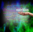 Nutrition Word Cloud - 79859524