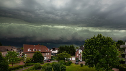 Approaching Thunderstorm Timelapse