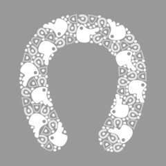 horseshoe pattern