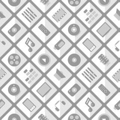 Pattern multimedia. seamless