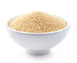 bowl of amaranth seeds - 79862366