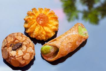 italian cookies - Italienische Kekse, drei