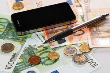 Smart phone and money