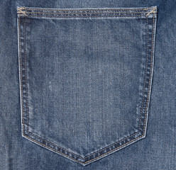 jeans pocket clothing tag