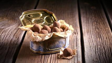 Enjoy your chocolate balls