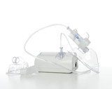 Nebulizer for respiratory inhaler asthma treatment poster