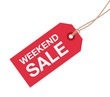 weekend sale sign - 79867506
