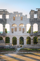 Arena in Pula, Croatia