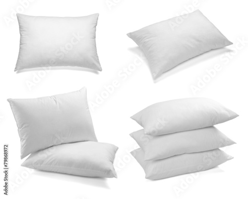 white pillow bedding sleep - 79868972