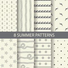 simple beach patterns