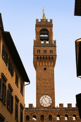 Tower of Palazzo Vecchio, Florence, Italy