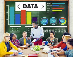 Data Analytics Chart Performance Statistics Information Concept