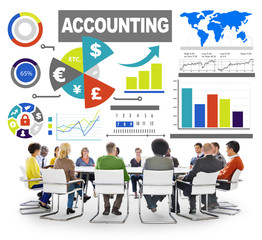 Accounting Analysis Banking Business Economy Financial Concept