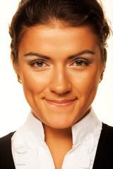 Smiling business woman portrait.
