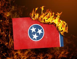 Flag burning - Tennessee