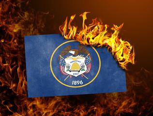 Flag burning - Utah