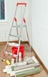 decorative finishing of walls of the apartment. tools