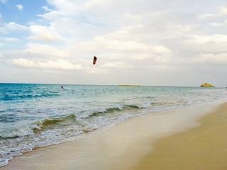Kite surfer at Kailua Beach