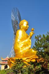 Золотой будда в Далате, Вьетнам