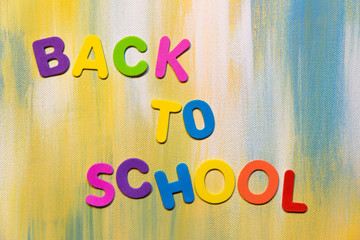 Bunte Buchstaben, Back to school