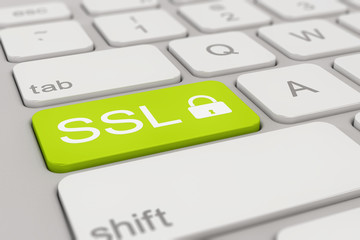 keyboard - ssl - green