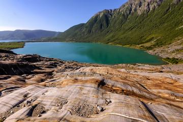 glacial lake, Norway
