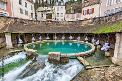 La fosse Dionne - the spring in the center of Tonnerre - 79880774