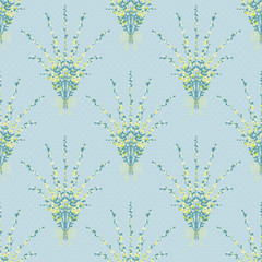 Seamless floral pattern texture background texture