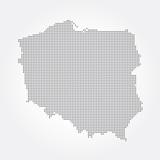 Polska, Kontur polski, zarys - 79882557