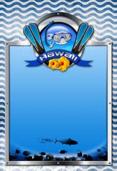 Signboard for Hawaii Snorkeling
