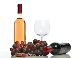 Rosewein und Rotwein