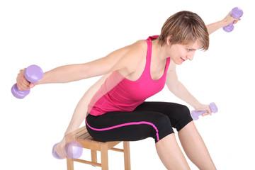 trainieren der hinteren Schultermuskulatur 3