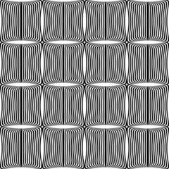 Design seamless monochrome square pattern