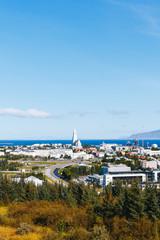 Reykjavik city view, Iceland