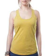 atractive blond modell for your clothing line