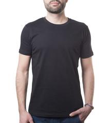 timeless clothing template classic black shirt
