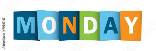 MONDAY (icon symbol button)