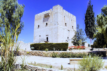 Castle Kolossi center near Limassol, Cyprus