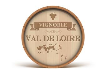 Tonneau Vignoble du Val de Loire